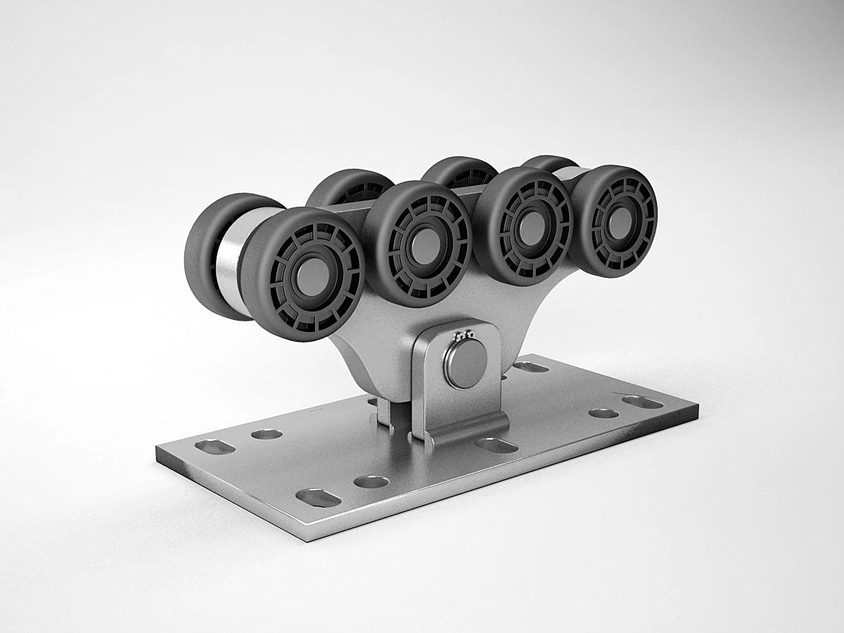 Откатные ворота ролики цена ворота с приводом схема с ду